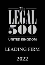 The Legal 500 UK - Leading Firm 2022